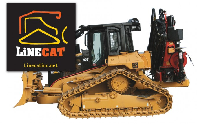 Linecat-Sticker