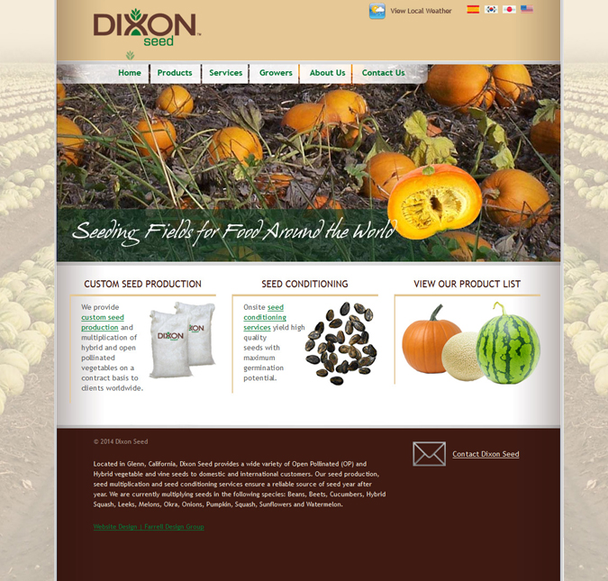 DixonSeed-Web