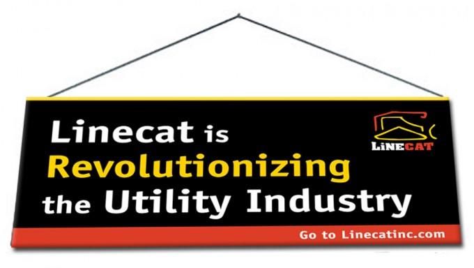 Linecat-Hanging_banner
